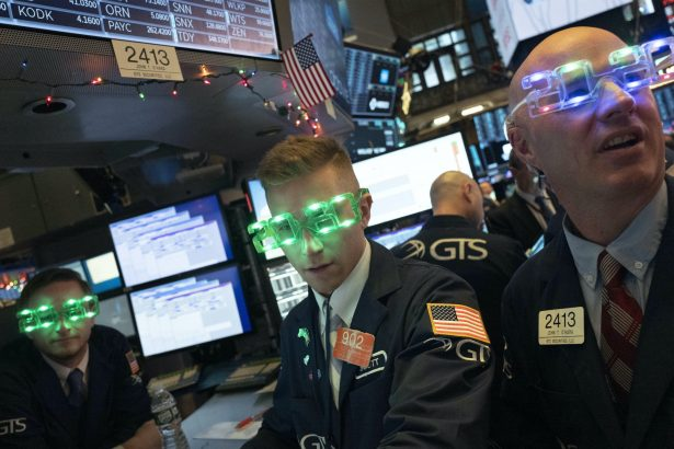 Stock Exchange Fun, New Years Eve