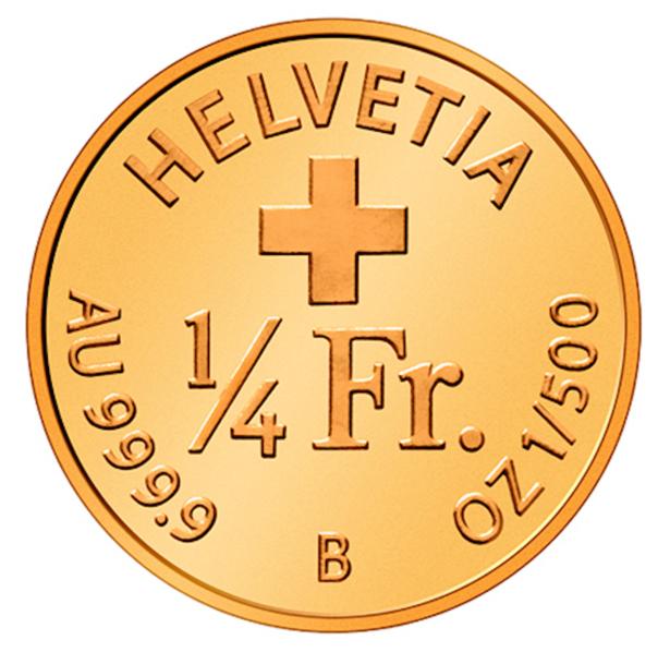 Switzerland Smallest Gold Coin