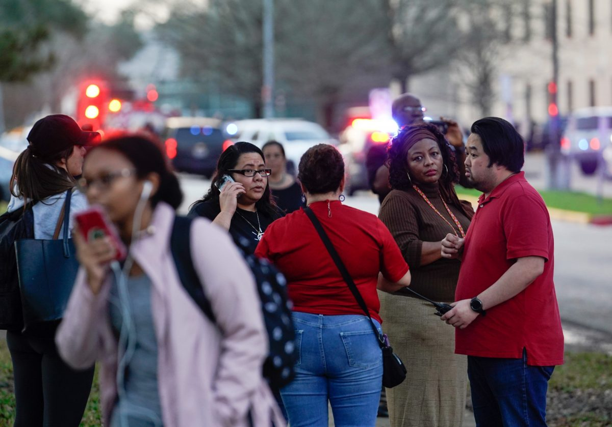 Student shot at Texas high school; suspect still at large