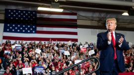 Trump Rallies Crowd in South Jersey, Highlights Achievements and Reaffirms Promises