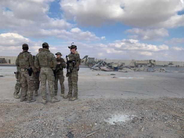 Iraq–US base attacked