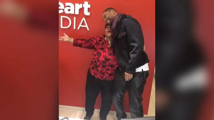 Will Smith Surprises a Receptionist to Celebrate Her Retirement, 30 Years After They First Met