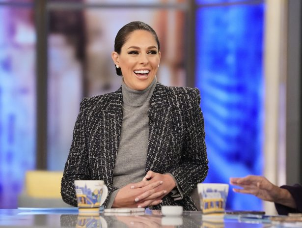 "ABC shows co-host Abby Huntsman on ""The View."""