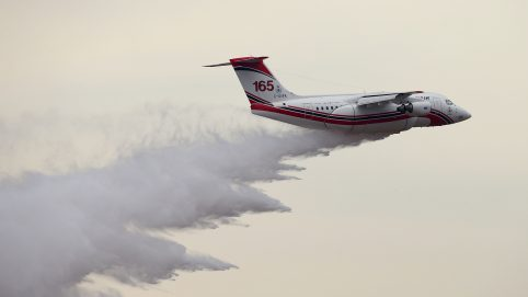 Fears of Air Tanker Crash While Fighting Fires in NSW