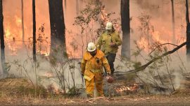 More Than 100 US Firefighters Gave up Holidays at Home to Tackle Australian Bushfires