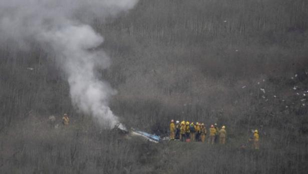 heliocopter crash, Kobe died
