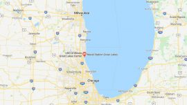 Naval Base in Illinois on Lockdown Amid Search for Vehicle