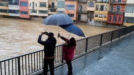Storm Gloria Leaves Eight Dead, Ruins Rice Paddies in Spain
