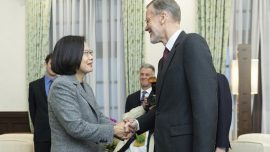 Taiwan's Leader Meets With US Official After Election Win