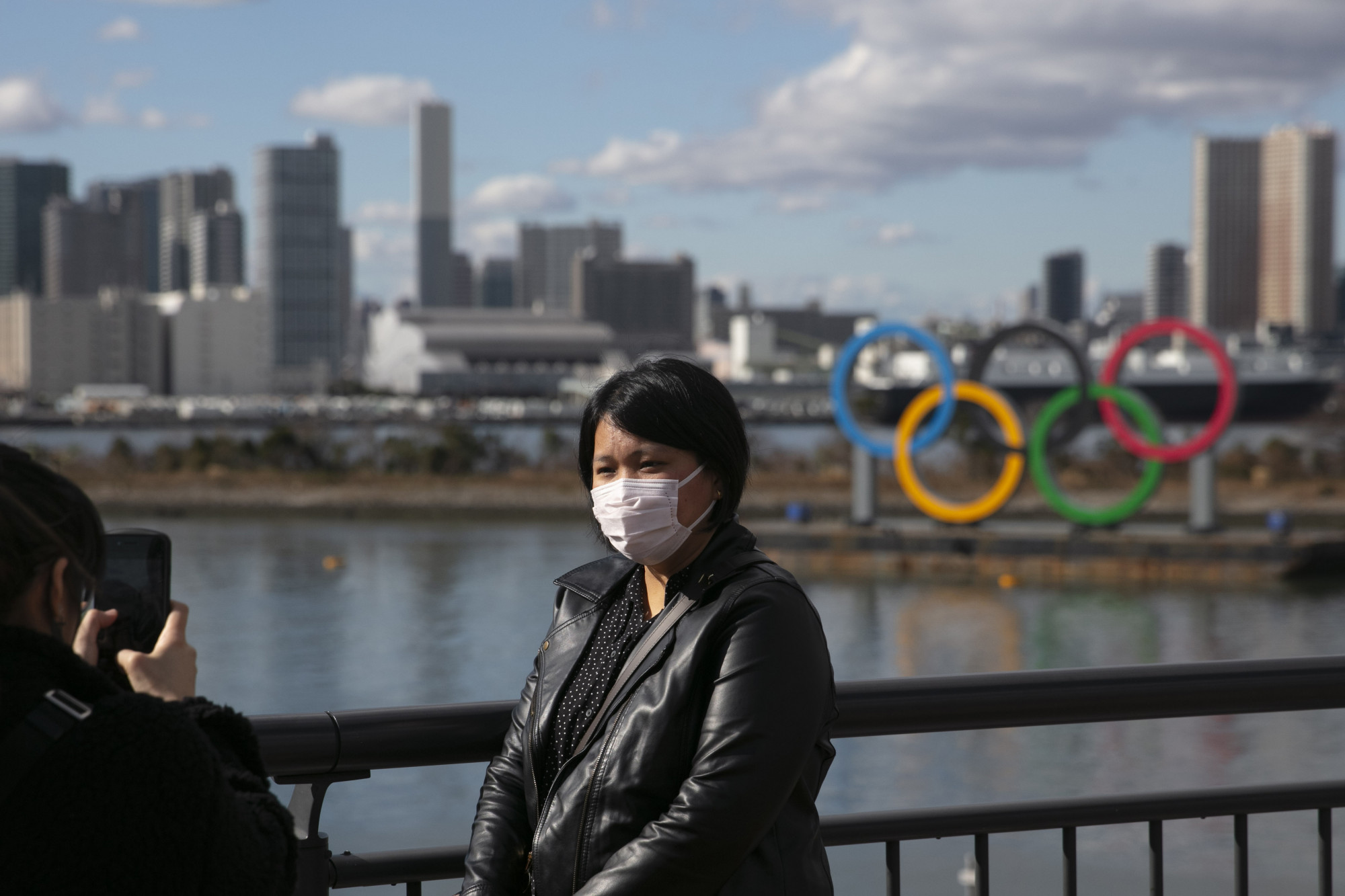 A tourist-Tokyo's Olympics 2020-Coronavirus Outbreak