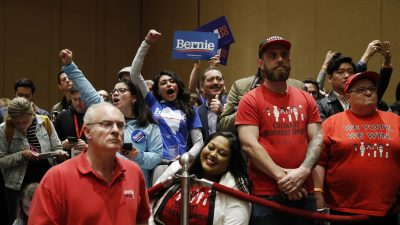 Sanders Takes Early Lead in Nevada Democratic Caucuses