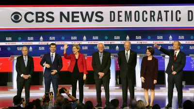 Democratic Debate: Candidates Air Widely Diverging Viewpoints