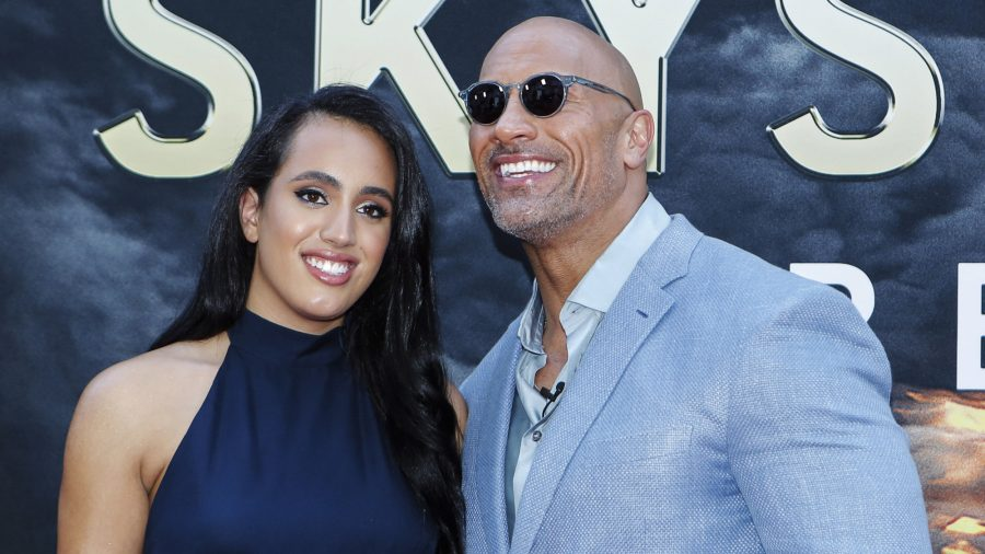 Dwayne Johnson Says His Mind Is Blown by Daughter Simone Following Him Into WWE