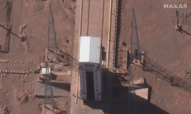 Failed Iranian satellite launch