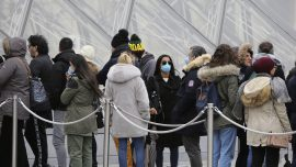 France Bans Gatherings, Frowns on Kissing, to Fight Virus