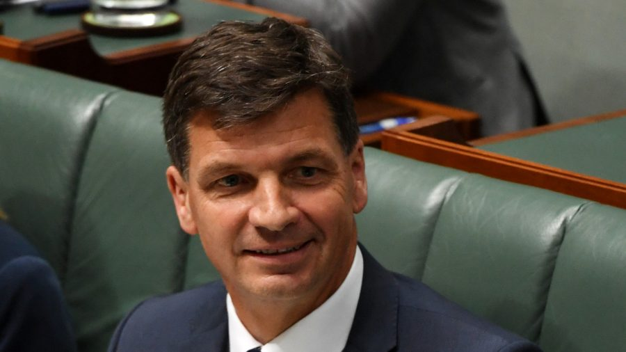 Police Clear Australian Minister for Energy Angus Taylor Over Letter