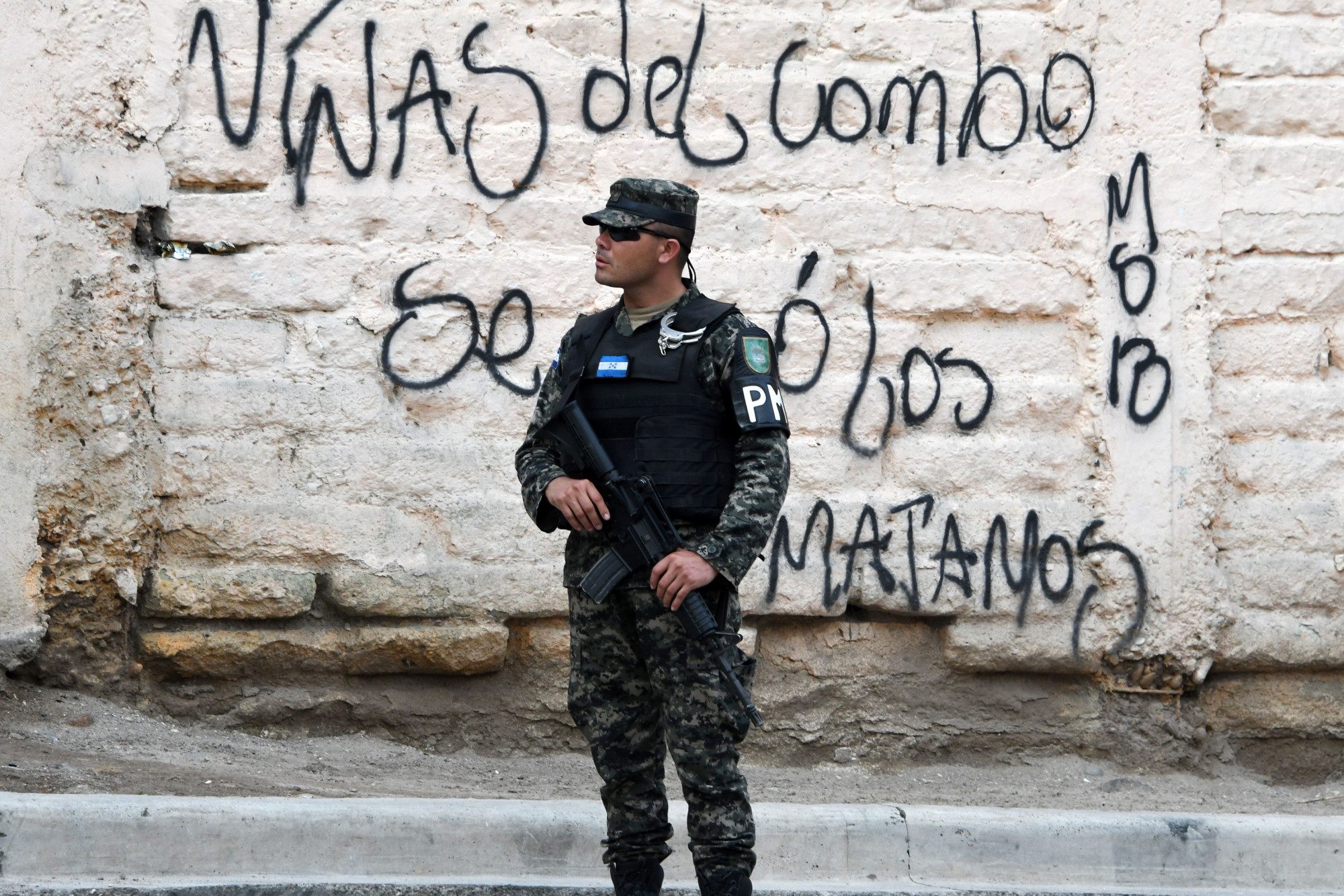 HONDURAS-GANGS-VIOLENCE