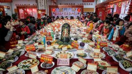 Wuhan Neighborhood Infected With Coronavirus After Families Attend Banquet