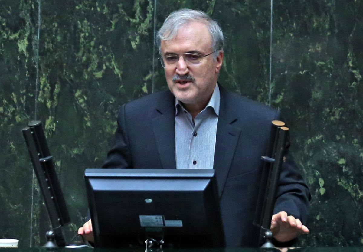 Iran health minister Saeed Namaki