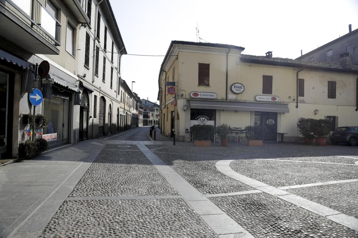 Italian town on lockdown 2