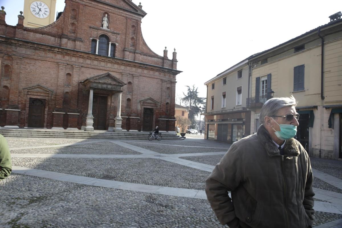 Italian town on lockdown 3
