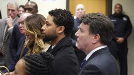 Actor Jussie Smollett Pleads Not Guilty to Restored Charges