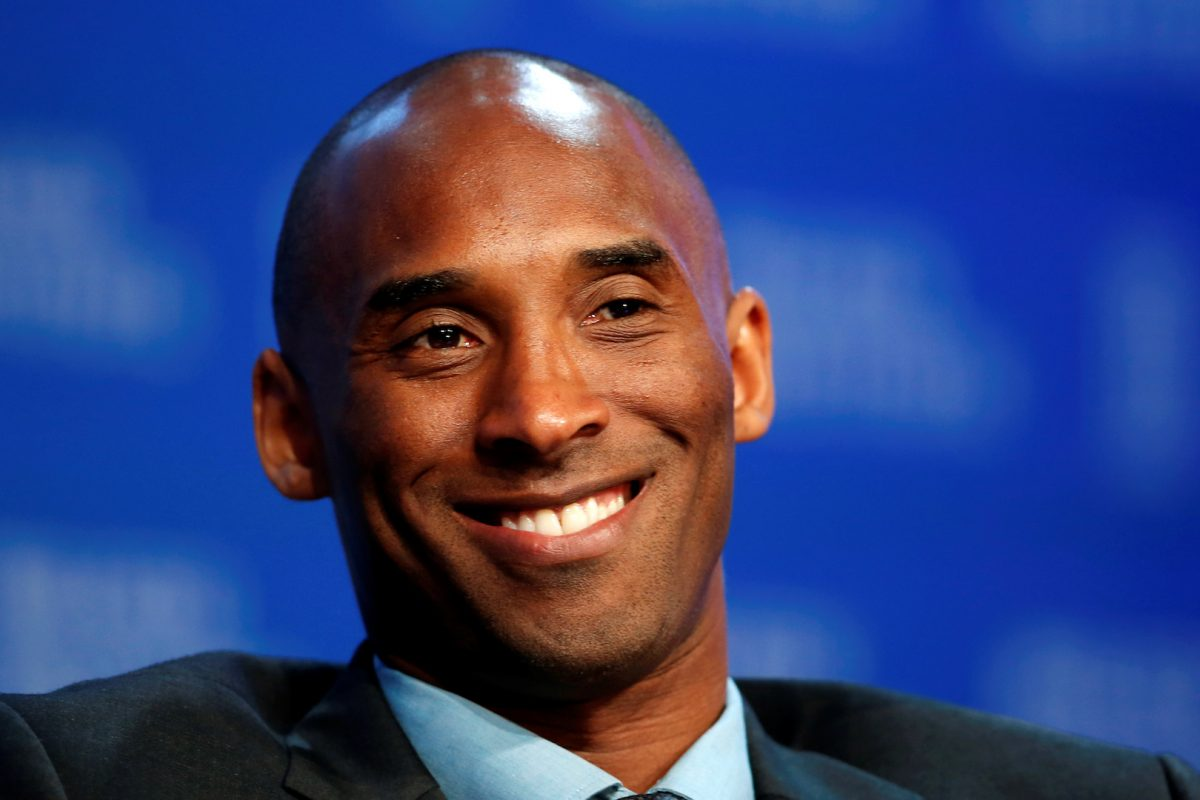 Former NBA star Kobe Bryant CEO of Kobe Inc speaks at the Milken Institute Global Conference