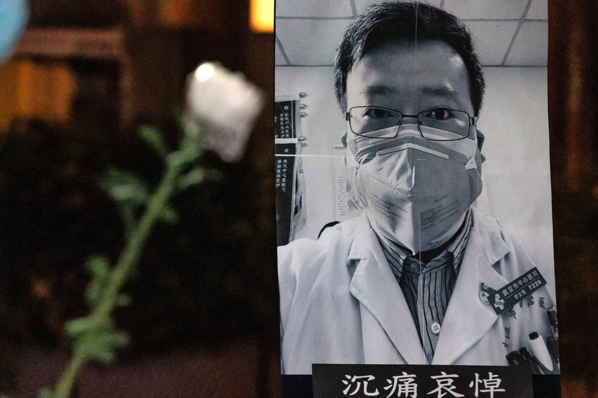 doctor Li Wenliang Coronavirus whistleblower