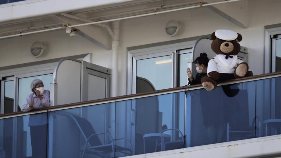 Fear, Boredom, Adventure Fill Each Day on Quarantined Ship