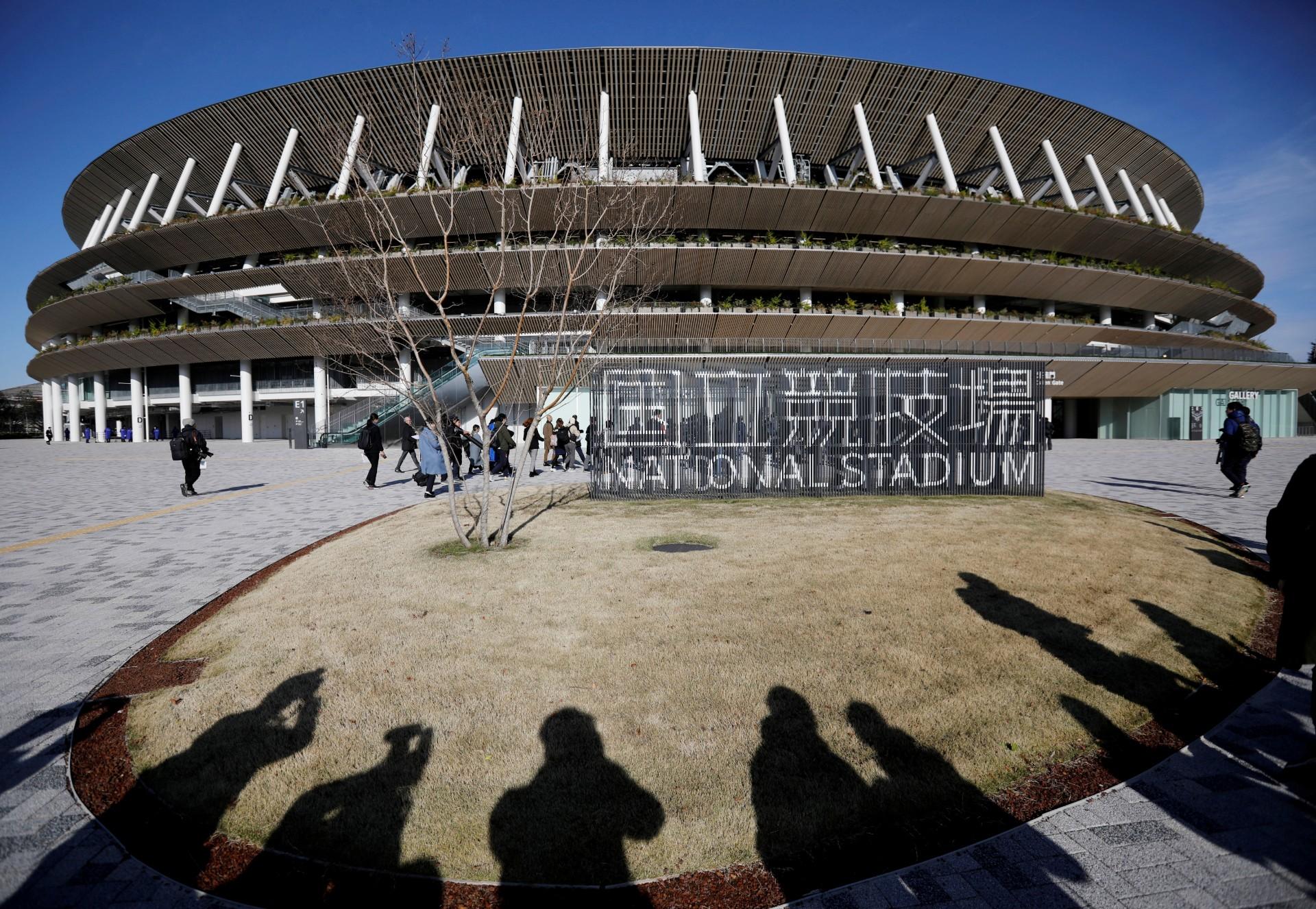 New National Stadium-Tokyo 2020 Olympics