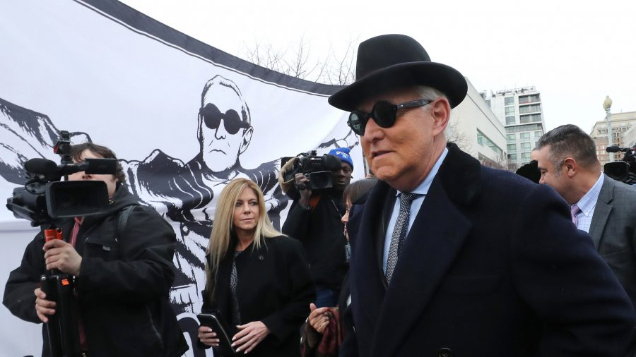 Roger Stone Says He Didn't Trade Silence for Clemency