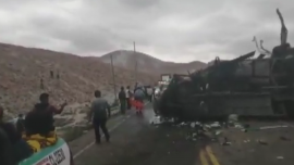 At Least 12 Dead in Bus Accident in Peru