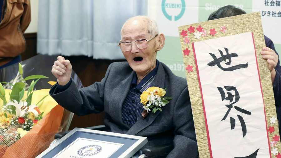 The World's Oldest Living Man Is 112. His Secret Is to Just Keep Smiling and Never Get Angry