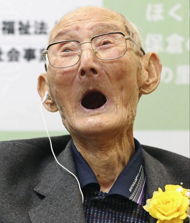 The World's Oldest Living-Smile-Japan
