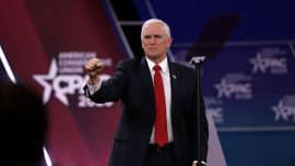 Pence Addresses Coronavirus Risk at CPAC, Condemns Socialism