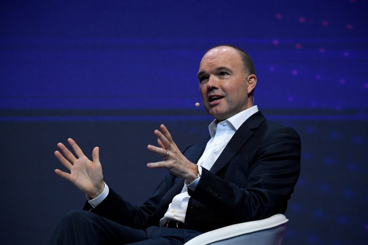 Vodafone chief executive officer Nick Read