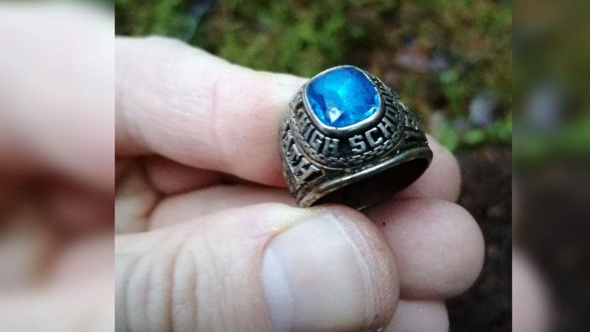 A Woman's Class Ring That She Lost in Maine in 1973 Was Just Found Buried in a Forest in Finland