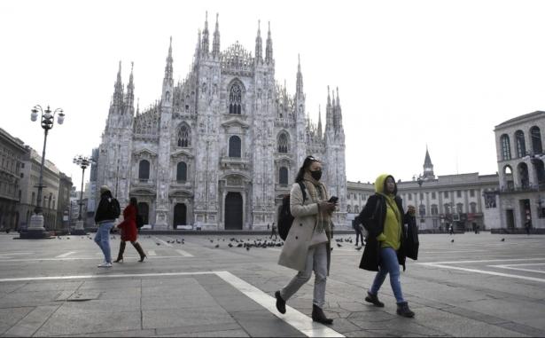 coronavirus in Italy, tourists
