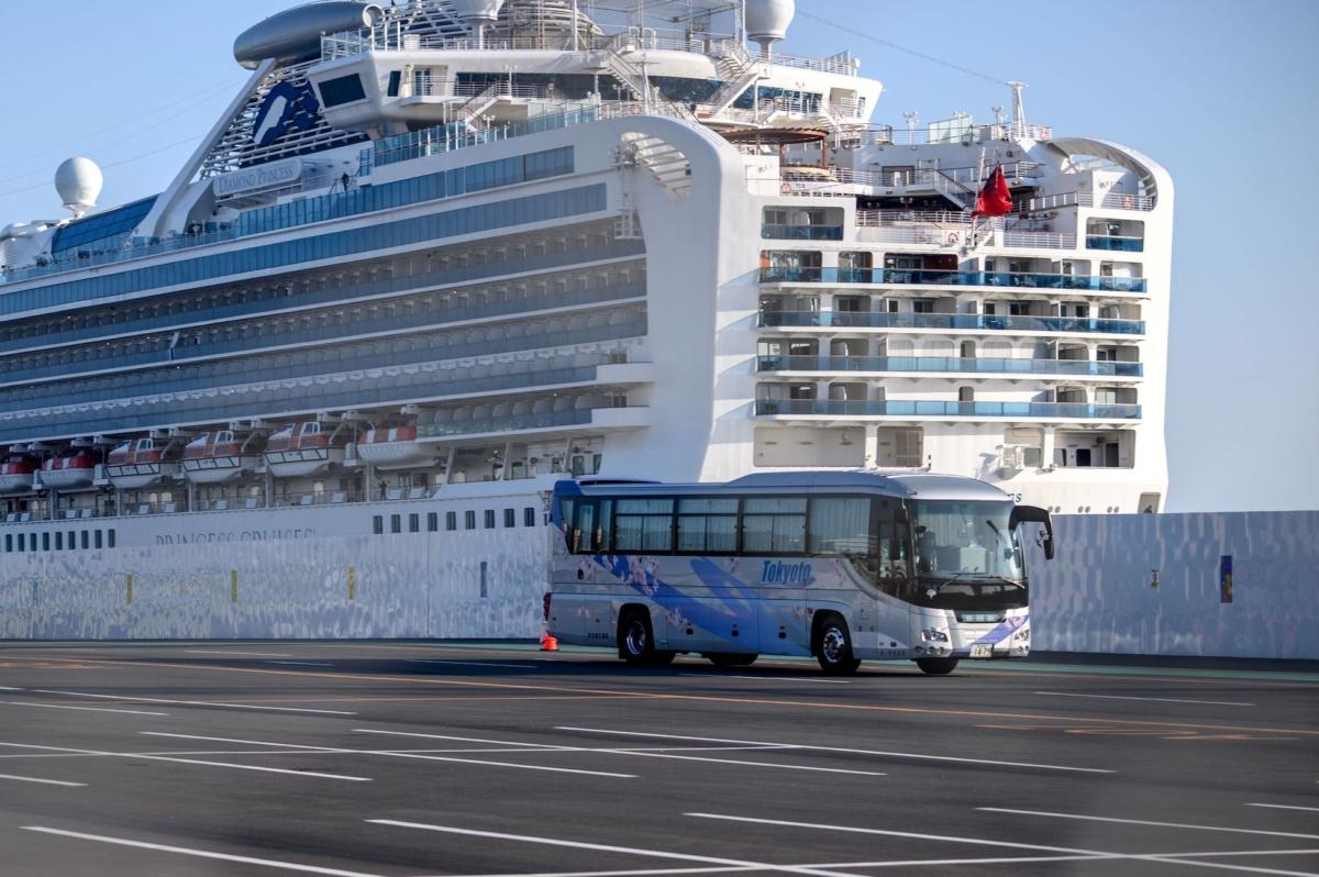 japan diamond princess cruise ship