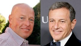 Disney's Bob Iger Steps Down as CEO, Parks Head Bob Chapek to Take Reins