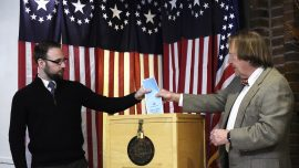 New Hampshire Residents Head to Vote in First-in-the-Nation Primaries