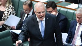 Australian Prime Minister Scott Morrison Says 'Don't Panic' About Virus