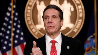 Cuomo Says New York CCP Virus Deaths Are Down 'For the First Time'