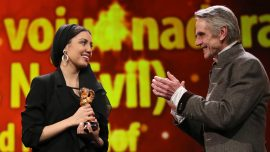 Berlin Film Festival Top Award Goes to Banned Iranian Director
