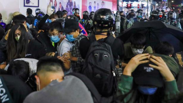 Hong Kong riot at Mong Kok