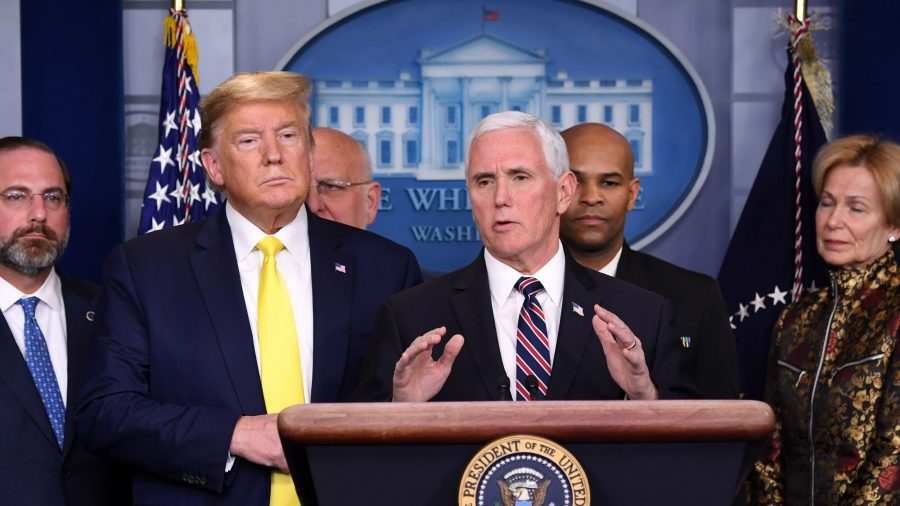 Pence says USA looking at possibility of coronavirus on another cruise ship