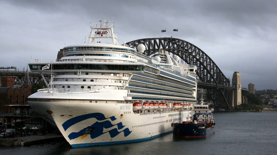 Australian Police Raid Ruby Princess, Remove Black Box