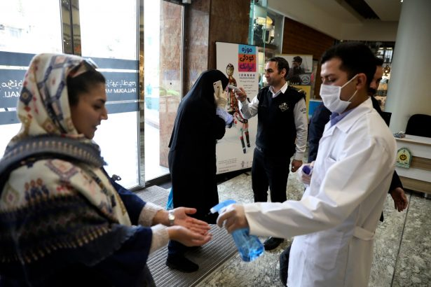 Virus Outbreak-Mideast-Iran