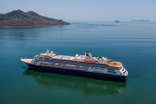 Holland America's cruise ship Zaandam