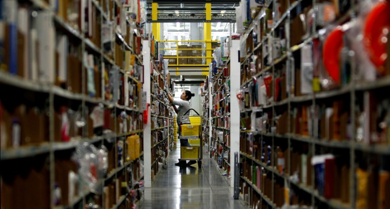Amazon Raises Overtime Pay for Warehouse Workers